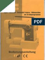 Necchi Mod. 559 Anleitung german manual