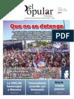 El Popular 315 Órgano de Prensa Oficial del Partido Comunista de Uruguay
