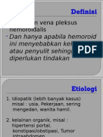 Hemoroid.