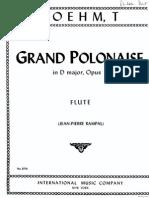 Boehm Grand Polonaise
