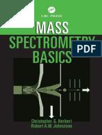 Mass Spectrometry Basics