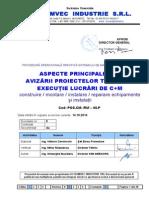 procedura generala de avizare proiecte si documentatii tehnice de executie-principii Gen. La Avizare Proiect 2015