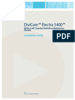 Electra5400 HW Guide