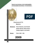 Informe 1- FISICA 1