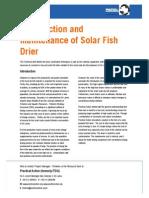 Solar Fish Drier