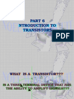 Introduction to Transistor