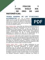 Grandes Matemáticos y Físicos.