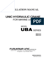 Installation Manual Unic Hydraulic Crane for Marine Use Thanh HSE