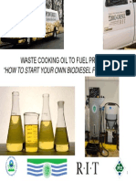 Biodiesel Workshop Presentation 2012-10-05