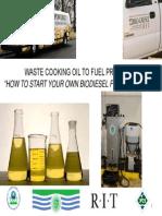 Biodiesel Workshop Presentation 2012-10-05