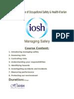 IOSH Poster