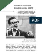 La Nacionalización Del Cobre