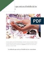 La Inflación Que Está en El Bolsillo de Los Venezolanos