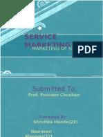 Service Marketing Marketing of Ngo's