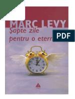 Marc Levy - Sapte Zile Pentru o Eternitate (v1.0)