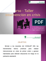 Curso-Taller Intervención en crisis con jóvenes.ppt