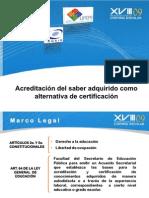 Egal acreditar licenciatura acuerdo 286