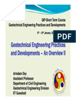 geotechnical engineering practices&development