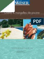Catalogue Dalles Et Margelles de Piscine Weser