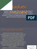 Radiatii Nucleare