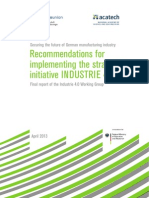 Final Report Industrie 4.0 Accessible