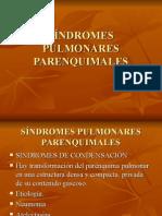 Síndromes Pulmonares Parenquimales 2014 1