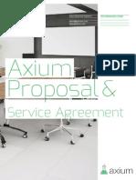Axium Proposal for the Entrepreneur Center
