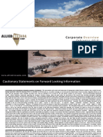 Allied Nevada Gold Corp Feb 2010 Presentation