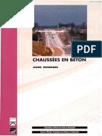 Chaussée en Béton-CET