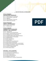Estatutos de la Fundación Alcoy Puente de Culturas