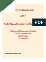 Lecture09 Harbor Entrances Channels