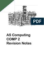 Revision Notes Computing Paper 2