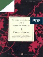 Twenty Love Poems & a Song of Despair (Penguin, 2004)