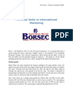 International Market Research - Boresc Mineral Water