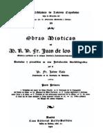 Obras Misticas-Parte I-Juan de Los Angeles