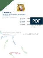 Informe Canvas
