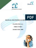 Manual Politicas Pacifictel