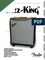 Fender Jazz-King Manual