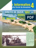 Informativo 4 Direito Nao Hidreletica Maraba