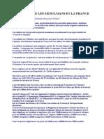 Info Memoire Les Musulmans Et La France