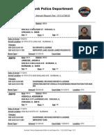 public arrest report for 11jul2015