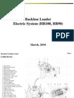 Sistema electrico Hyundai HB100; HB90