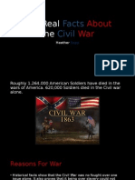 The Real Facts About the Civil War