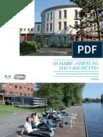 """50 Jahre """"Stiftung Haus Bauhütte"""" Hamburg"""