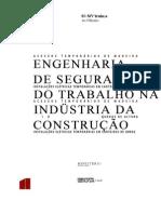 Engenharia de Segurança Do Trabalho Na Indústria de Construção - Ano 2001