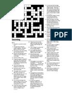Beekeeping Crossword on Swarming