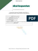 Carvalho 2010_Manuscript_Acupuncture Improves Flexibility