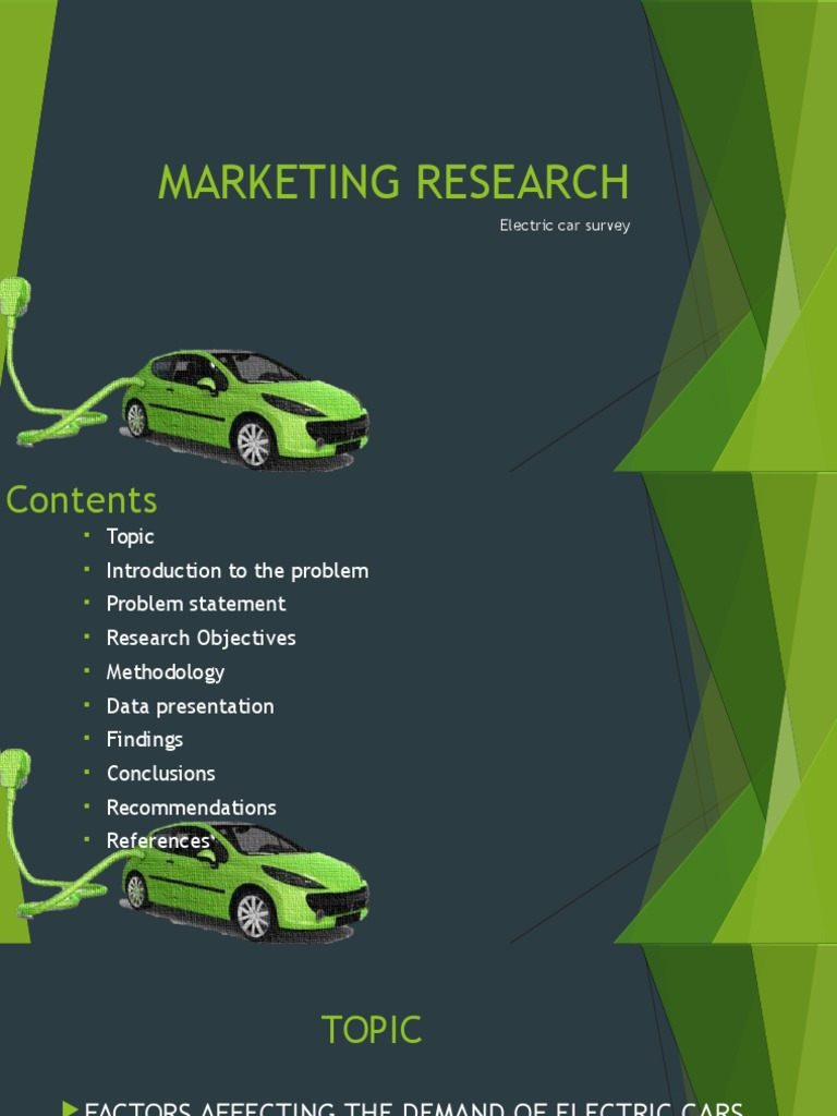 Market Research | Electric Car | Marketing Research