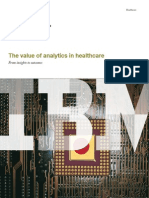 The Value of Analytics in Healthcare