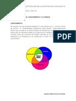 Tema 1_metod de La Inv Ii_ El Conocimiento y La Ciencia